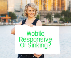 Google rankings drop unless you have a mobile responsive website
